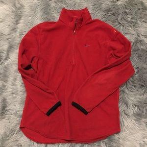 Vintage Nike thermal fit quarter zip fleece